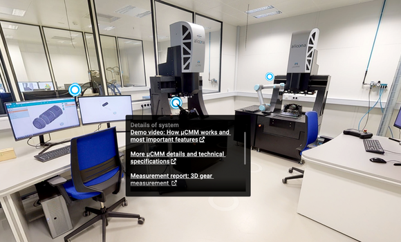 Bruker Alicona virtual showroom