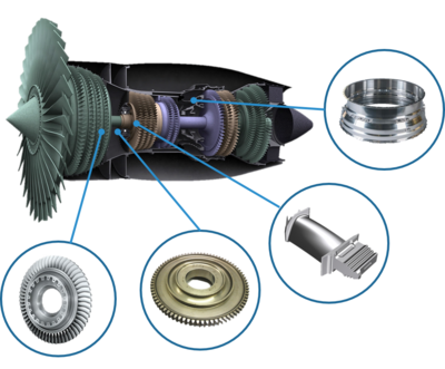 Dimensional measurement of critical turbine engine components